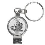 Kansas Nail Clippers Key Chain