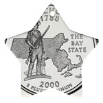 Massachusetts Ornament (Star)