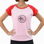Massachusetts Women s Cap Sleeve T-Shirt
