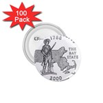 Massachusetts 1.75  Button (100 pack)