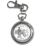 Massachusetts Key Chain Watch