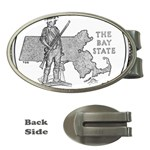 Massachusetts Money Clip (Oval)