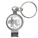 Massachusetts Nail Clippers Key Chain