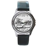 Minnesota Round Metal Watch