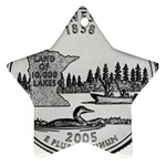 Minnesota Ornament (Star)