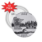 Minnesota 2.25  Button (10 pack)