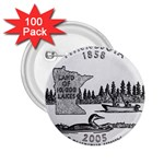 Minnesota 2.25  Button (100 pack)