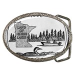 Minnesota Belt Buckle