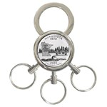 Minnesota 3-Ring Key Chain