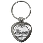 Minnesota Key Chain (Heart)