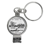 Minnesota Nail Clippers Key Chain