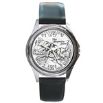 Mississippi Round Metal Watch