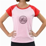 Mississippi Women s Cap Sleeve T-Shirt