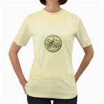 Mississippi Women s Yellow T-Shirt