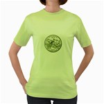 Mississippi Women s Green T-Shirt