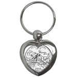 Mississippi Key Chain (Heart)