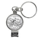 Mississippi Nail Clippers Key Chain