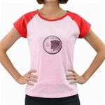 New Hampshire Women s Cap Sleeve T-Shirt