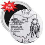 Ohio 3  Magnet (10 pack)