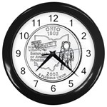 Ohio Wall Clock (Black)