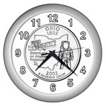 Ohio Wall Clock (Silver)