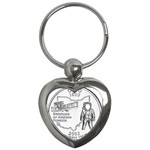 Ohio Key Chain (Heart)