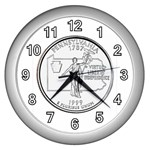 Pennsylvania Wall Clock (Silver)