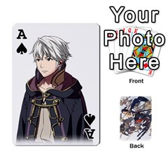 Ace Fire Emblem Awakening By Cheesedork   Playing Cards 54 Designs   Ksptlp4cqxxe   Www Artscow Com Front - SpadeA