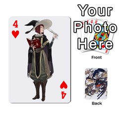 Fire Emblem Awakening By Cheesedork   Playing Cards 54 Designs   Ksptlp4cqxxe   Www Artscow Com Front - Heart4
