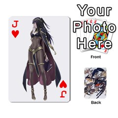 Jack Fire Emblem Awakening By Cheesedork   Playing Cards 54 Designs   Ksptlp4cqxxe   Www Artscow Com Front - HeartJ