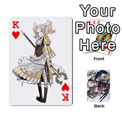 King Fire Emblem Awakening By Cheesedork   Playing Cards 54 Designs   Ksptlp4cqxxe   Www Artscow Com Front - HeartK