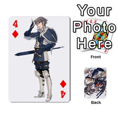 Fire Emblem Awakening By Cheesedork   Playing Cards 54 Designs   Ksptlp4cqxxe   Www Artscow Com Front - Diamond4