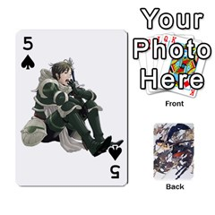 Fire Emblem Awakening By Cheesedork   Playing Cards 54 Designs   Ksptlp4cqxxe   Www Artscow Com Front - Spade5