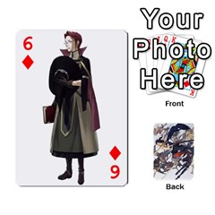 Fire Emblem Awakening By Cheesedork   Playing Cards 54 Designs   Ksptlp4cqxxe   Www Artscow Com Front - Diamond6