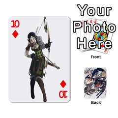 Fire Emblem Awakening By Cheesedork   Playing Cards 54 Designs   Ksptlp4cqxxe   Www Artscow Com Front - Diamond10