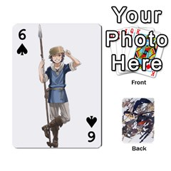 Fire Emblem Awakening By Cheesedork   Playing Cards 54 Designs   Ksptlp4cqxxe   Www Artscow Com Front - Spade6