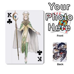 King Fire Emblem Awakening By Cheesedork   Playing Cards 54 Designs   Ksptlp4cqxxe   Www Artscow Com Front - ClubK