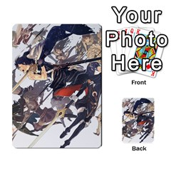 Fire Emblem Awakening By Cheesedork   Playing Cards 54 Designs   Ksptlp4cqxxe   Www Artscow Com Back
