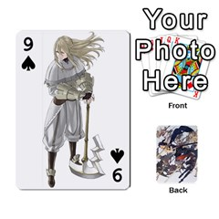 Fire Emblem Awakening By Cheesedork   Playing Cards 54 Designs   Ksptlp4cqxxe   Www Artscow Com Front - Spade9