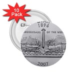 Utah 2.25  Button (10 pack)