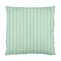 Hearts & Stripes Cushion Case (two Sided)  by StuffOrSomething