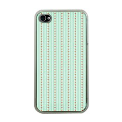 Hearts & Stripes Apple Iphone 4 Case (clear) by StuffOrSomething
