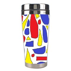 Silly Primaries Stainless Steel Travel Tumbler by StuffOrSomething