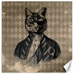 Harlequin Cat Canvas 20  X 20  (unframed) by StuffOrSomething