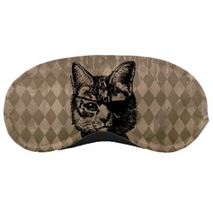 Harlequin Cat Sleeping Mask by StuffOrSomething