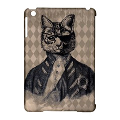 Harlequin Cat Apple Ipad Mini Hardshell Case (compatible With Smart Cover) by StuffOrSomething