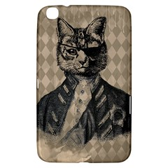 Harlequin Cat Samsung Galaxy Tab 3 (8 ) T3100 Hardshell Case  by StuffOrSomething
