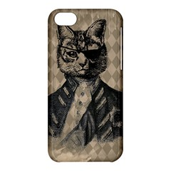 Harlequin Cat Apple Iphone 5c Hardshell Case by StuffOrSomething