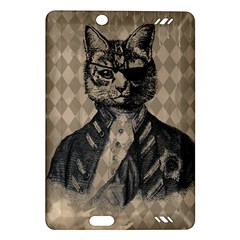 Harlequin Cat Kindle Fire Hd 7  (2nd Gen) Hardshell Case by StuffOrSomething