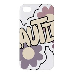 Beautiful Floral Art Apple Iphone 4/4s Hardshell Case by Colorfulart23